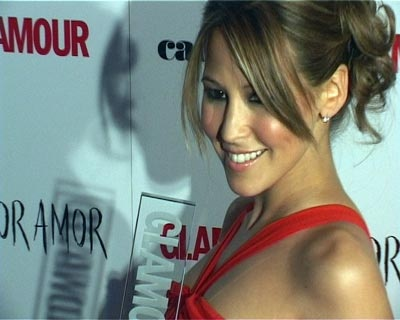 Rachel Stevens wins the Glamour award